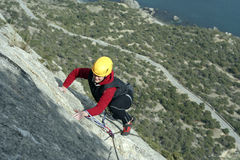 Climber. Stock Image