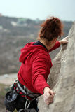 Climber. Royalty Free Stock Photo