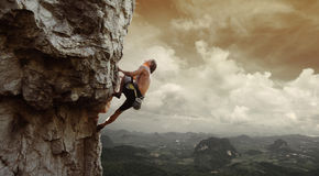 Climber Royalty Free Stock Photos