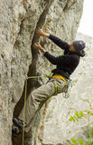 Climber. Royalty Free Stock Photography