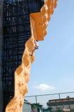 climber14夫人岩石 免版税库存照片
