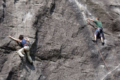 Climbers Royalty Free Stock Photography