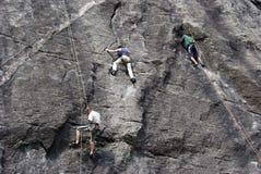 Climbers Stock Photo