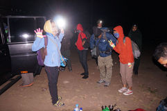 Climbers Stock Photography
