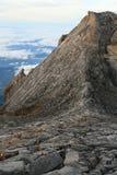 Climbers on Kinabalu Summit Stock Photos