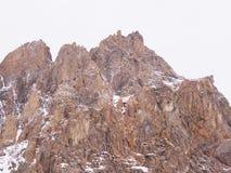 Climbers at the mountains Stock Photos