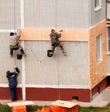 climbers Reparo das paredes Imagem de Stock