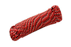 Climbers rope coil Royalty Free Stock Image