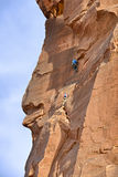 Climbers on the Tower of Babel Royalty Free Stock Images