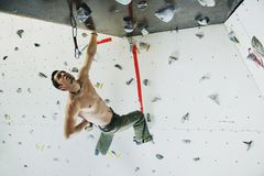 Climbing Royalty Free Stock Photo