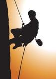 climbing royalty-vrije illustratie