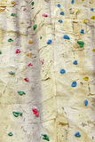 Climbing Artificial Wall Background Texture Stock Images