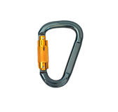 Climbing carabiner Royalty Free Stock Photo