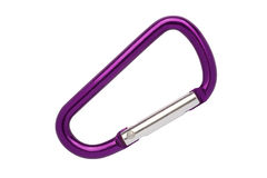 climbing carabiner Stock Images