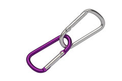 Climbing carabiner Stock Photos