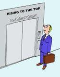 Climbing Career Ladder Stock Photos