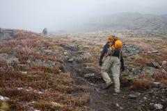 Climbing Challenger Point, Colorado Royalty Free Stock Photos