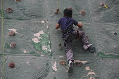 Are climbing of the Children in SHENZHEN Royalty Free Stock Photo