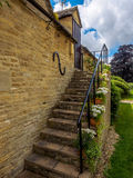 Climbing in the Cotswolds. Village of Lovell Minster, in the heart of the Cotswolds, England Stock Photos