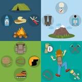 Climbing design concept Stock Photos