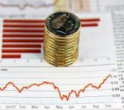 Climbing Dollar stock photos