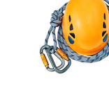 Climbing equipment Royalty Free Stock Photos