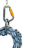 Climbing equipment Stock Images