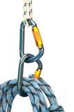 Climbing equipment royalty free stock image