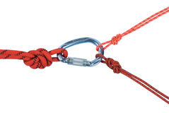 Climbing equipment Stock Image