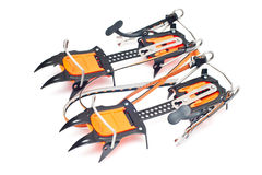 Climbing equipment - crampon Stock Photo