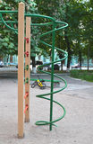 Climbing frame at playground for children use Royalty Free Stock Photos