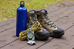 Climbing gear Royalty Free Stock Images