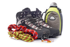 Climbing gear Stock Photography