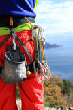 Climbing gear Stock Image
