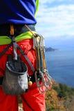 Climbing gear Royalty Free Stock Image
