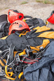 Climbing gear Royalty Free Stock Photography