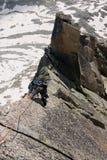 Climbing girl Royalty Free Stock Photos