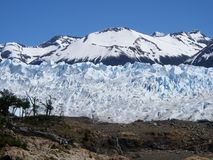 Climbing Glacier Royalty Free Stock Images