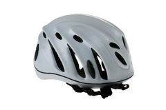Climbing Helmet. Isolated on White Background Stock Image