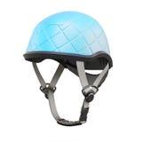 Climbing helmet on white background. 3d rendering Stock Image