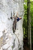 Climbing high up Stock Photos