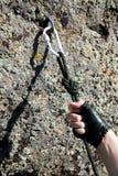 Climbing iron Stock Images