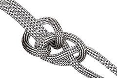 A climbing knot Royalty Free Stock Images