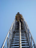 Climbing Ladder Royalty Free Stock Photography