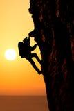Climbing Royalty Free Stock Photography