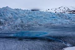 Climbing Mendenhall Glacier Royalty Free Stock Image