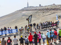 Climbing Mont Ventoux Royalty Free Stock Images