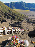 Climbing Mount Bromo Royalty Free Stock Images