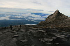 Climbing Mount Kinabalu Royalty Free Stock Images