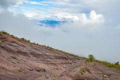 Climbing mount Vesuvius Royalty Free Stock Image